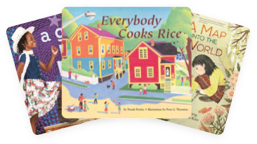 Everybody Cooks Rice, A Girl Like Me, and A Map Into the World