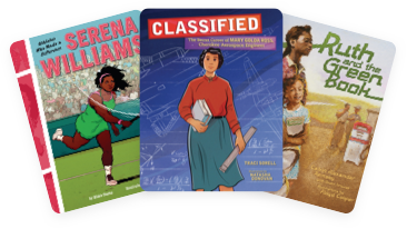 Classified: The Secret Career of Mary Golda Ross, Cherokee Aerospace Engineer; Ruth and the Green Book; and Serena Williams: Athletes Who Made a Difference